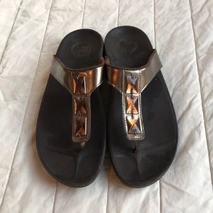 FitFlops Brown with Jewel